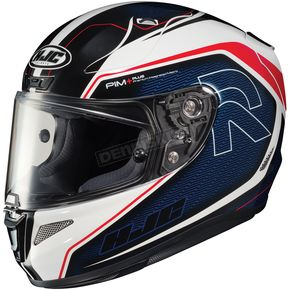 HJC Blue/White/Red RPHA-11 Pro Darter MC-21 Helmet - 1656-213
