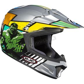HJC Silver/Blue/Red CL-XY II Youth Avenger Helmet - 290-212