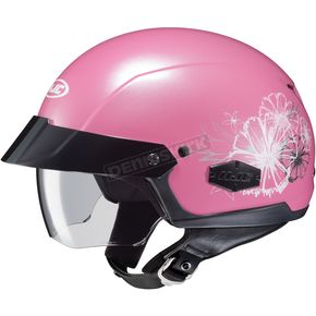 HJC Pearl Pink IS-Cruiser Blush MC-8 Helmet - 490-982