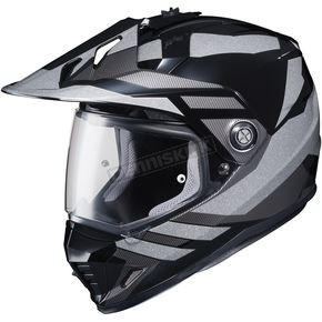 HJC Gray/Black DS-X1 Lander MC-5 Helmet - 512-953