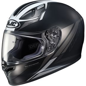 HJC Semi-Flat Black/White FG-17 Valve MC-5SF Helmet - 638-753