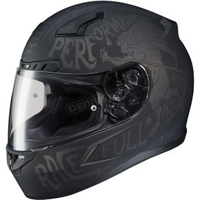 HJC Semi-Flat Black/Gray CL-17 Rebel MC-5F Helmet - 850-855
