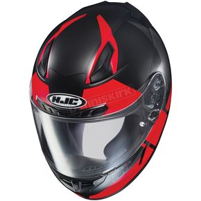HJC Semi-Flat Black/Red CL-17 Boost MC-1SF Helmet - 852-713