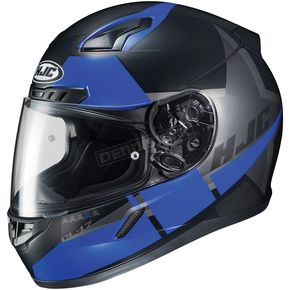 HJC Semi-Flat Black/Blue CL-17 Boost MC-2SF Helmet - 852-725