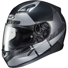 HJC Semi-Flat Black/Silver CL-17 Boost MC-5SF Helmet - 852-755