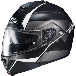 HJC Semi-Flat Black/White IS-Max2 Mine MC-5SF Helmet - 990-754