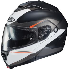 HJC Semi-Flat Black/White IS-Max2 Magma MC-5SF Helmet - 992-758