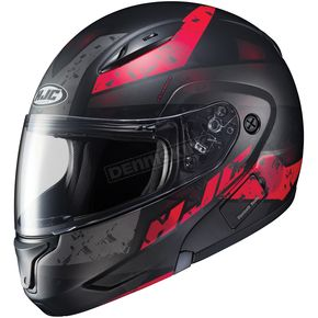 HJC Semi-Flat Black/Red CL-MAXBT 2 Friction MC-1SF Helmet - 996-717