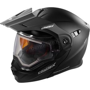 Castle X Matte Black EXO-CX950 Snow Helmet w/Electric Shield - 45-29084