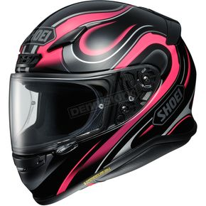 Shoei Helmets Black/Pink/Gray RF-1200 Intense TC-7 Helmet - 0109-2907-07