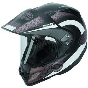 Arai Helmets Frost Black/White/Sand Multi-Colored XD4 Mesh Helmet - 807414