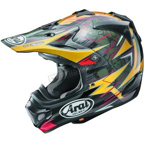 Arai Helmets Black/Yellow/Red Multi-Colored VX-Pro 4 Tickle Trophy Girl Helmet - 807494
