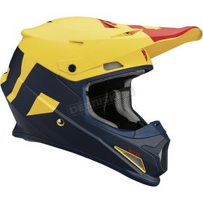 Thor Navy/Yellow Sector Level Helmet  - 0110-5159