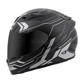 Scorpion Silver EXO-R710 Transect Helmet - 71-4413