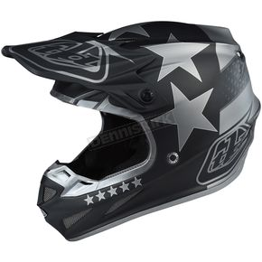 Troy Lee Designs Black Freedom SE4 Composite Helmet - 101142205