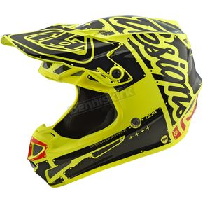 Troy Lee Designs Yellow Factory SE4 Helmet - 109008502