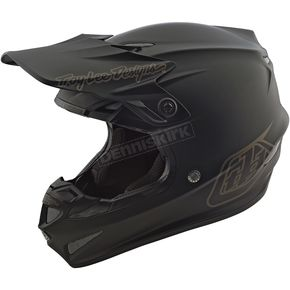 Troy Lee Designs Black Mono SE4 Helmet - 109490206