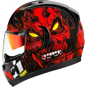 Icon Red Alliance GT Horror Helmet  - 0101-10100