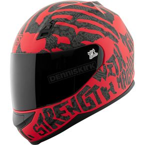 Speed and Strength Red/Black Rage With The Machine SS700 Helmet - 1111-0602-0951