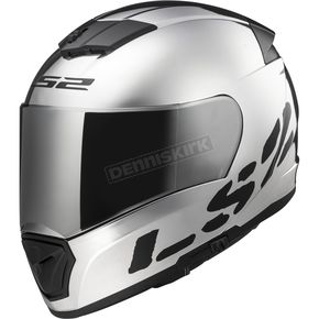 LS2 Chrome/Black Breaker Helmet - 390-1407