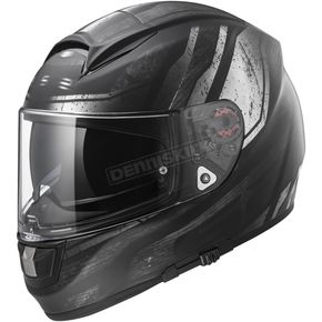 LS2 Black/Chrome Citation Razor Helmet - 397-6416