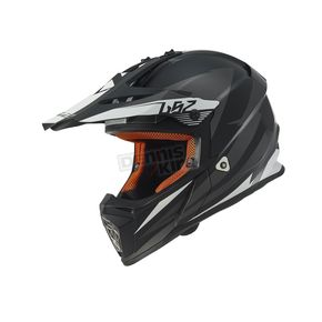 LS2 Youth Black/Gray Fast Mini Helmet - 437-5024