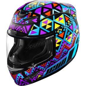 Icon Blue Airmada Georacer Helmet - 0101-10145