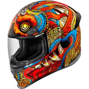 Icon Red Airframe Pro Barong Helmet  - 0101-10150