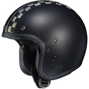 HJC Semi-Flat Black IS-5 Burnout MC-5SF Helmet - 434-751