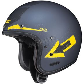 HJC Flat Blue/Yellow IS-5 Arrow MC-3F Helmet - 436-835