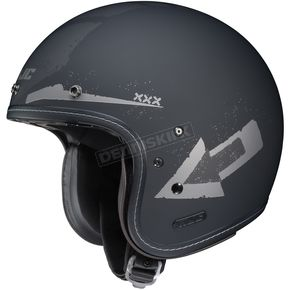 HJC Flat Black/Silver IS-5 Arrow MC-5F Helmet - 436-851