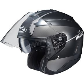 HJC Semi-Flat Anthracite/Black IS-33 II Niro MC-5SF Helmet  - 876-753