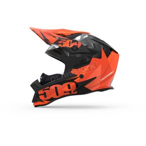 509 Orange Triangles Altitude Helmet w/Fidlock Technology - 509-HEL-AOT-LG