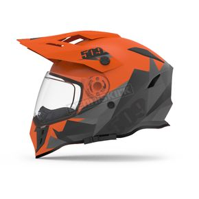 509 Orange Delta R3 Helmet w/Fidlock Technology - 509-HEL-DOR-XL