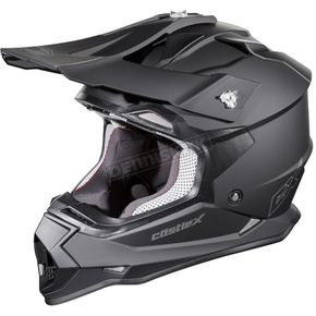 Castle X Matte Black Mode MX Helmet - 35-1809T