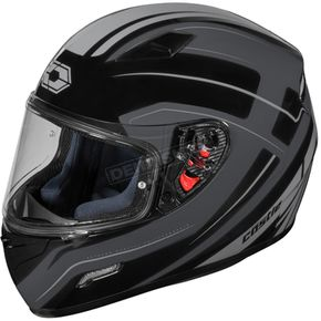 Castle X Black Mugello Maker Helmet - 36-0354