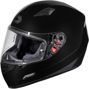 Castle X Black Mugello Helmet - 36-0101