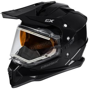 Castle X Black Mode Dual-Sport SV Snow Helmet w/Electric Shield - 35-23509