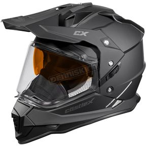 Castle X Matte Black Mode Dual-Sport SV Snow Helmet - 35-13581