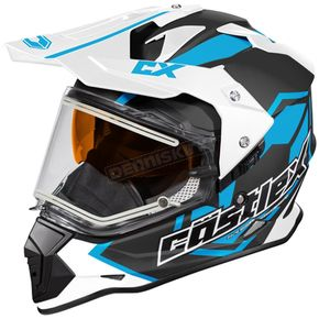 Castle X Process Blue Mode Dual-Sport SV Team Snow Helmet w/Electric Shield - 35-23729T