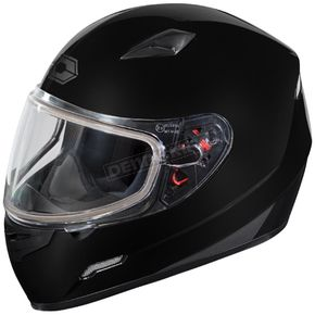 Castle X Black Mugello Snow Helmet - 36-10108