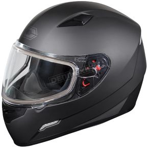 Castle X Matte Black Mugello Snow Helmet - 36-10188