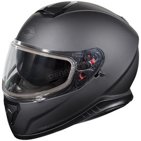 Castle X Matte Black Thunder 3 SV Snow Helmet - 36-11289