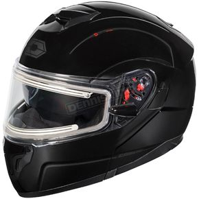 Castle X Black Atom SV  Modular Snow Helmet w/Electric Shield - 36-23002