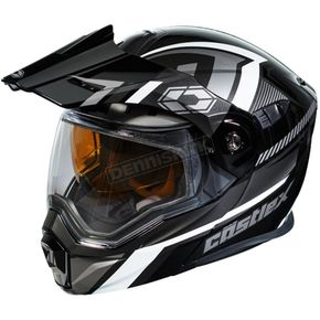Castle X Black/Gray EXO-CX950 Slash Snow Helmet - 45-19259