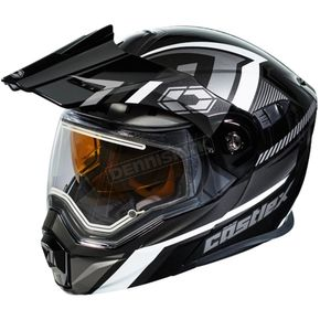 Castle X Black/Gray EXO-CX950 Slash Snow Helmet w/Electric Shield - 45-29256