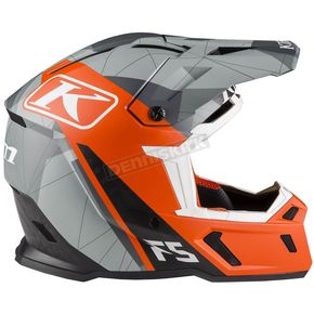 Klim Orange/Gray F5 Camo Helmet - 3910-000-160-005