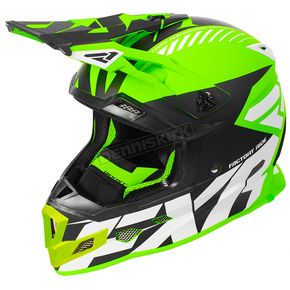 FXR Racing Lime/Black/White Boost CX Prime Helmet - 180607-7010-19