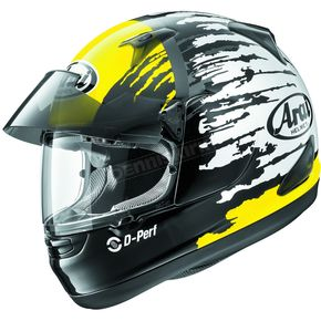 Arai Helmets Yellow/Black/White Signet-Q Pro-Tour Splash Helmet - 807364