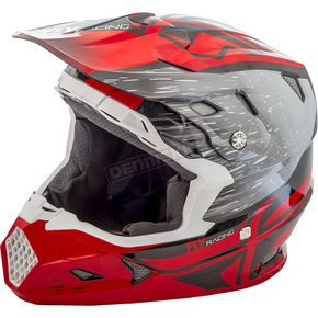 Fly Racing Red/Black Toxin MIPS Resin Helmet - 73-8522X